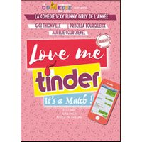 Affiche Humoristes  LOVE ME TINDER © Fnac Spectacles