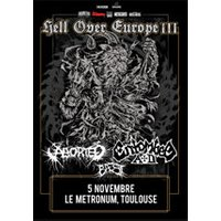 Affiche Hard-rock/Métal  ENTOMBED AD / ABORTED / TOULOUSE © Fnac Spectacles