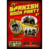 Affiche Rock  SPANISH ROCK PARTY 5 © Fnac Spectacles