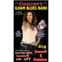 Affiche Blues/Country  ILHAM BLUES BAND © Fnac Spectacles