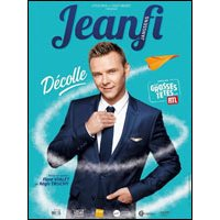 Affiche One man/woman show  JEANFI JANSSENS DECOLLE © Fnac Spectacles