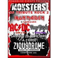 Affiche Rock  MONSTERS OF TRIBUTE ROCK II © Fnac Spectacles