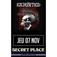 Affiche Rock  THE EXPLOITED © Fnac Spectacles
