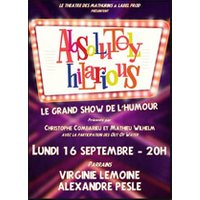 Affiche Humoristes  ABSOLUTELY HILARIOUS © Fnac Spectacles