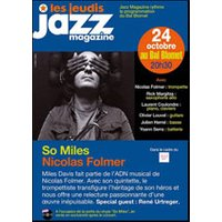 Affiche Jazz  SO MILES NICOLAS FOLMER © Fnac Spectacles