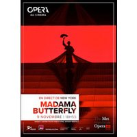 Affiche Retransmission Opéra/Concert  MADAME BUTTERFLY © Fnac Spectacles