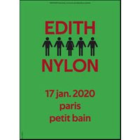 Affiche Pop-rock / Folk  EDITH NYLON © Fnac Spectacles