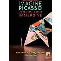 Affiche Exposition  IMAGINE PICASSO © Fnac Spectacles