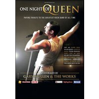 Affiche Variété internationale  ONE NIGHT OF QUEEN - PERFORMED BY © Fnac Spectacles