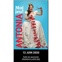 Affiche One man/woman show  ANTONIA DE RENDINGER © Fnac Spectacles