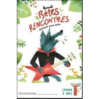 Affiche Marionnette  BETES RENCONTRES © Fnac Spectacles