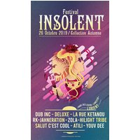 Affiche Reggae  FESTIVAL INSOLENT © Fnac Spectacles