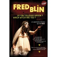 Affiche Humoristes  FRED BLIN © Fnac Spectacles