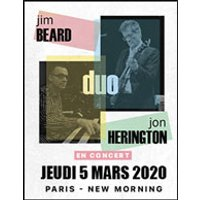 Affiche Jazz  JIM BEARD AND JON HERINGTON © Fnac Spectacles