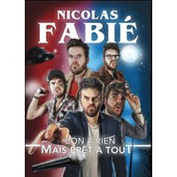 Affiche One man/woman show  NICOLAS FABIE © Fnac Spectacles