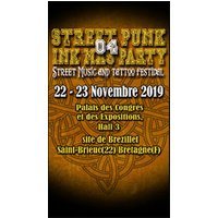 Affiche Musical  STREET PUNK INK MAS PARTY © Fnac Spectacles