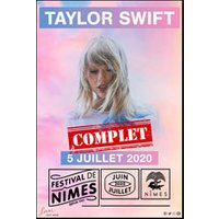 Affiche Pop-rock / Folk  TAYLOR SWIFT © Fnac Spectacles