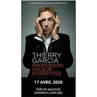 Affiche Humoristes  THIERRY GARCIA © Fnac Spectacles