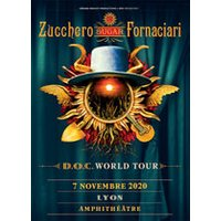 Affiche Variété internationale  ZUCCHERO © Fnac Spectacles