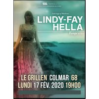 Affiche Rock  LINDY FAY HELLA © Fnac Spectacles