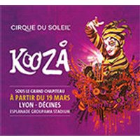 Affiche Grand spectacle  KOOZA © Fnac Spectacles