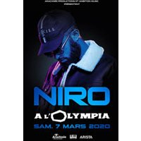 Affiche Rap/Hip-hop/Slam  NIRO © Fnac Spectacles