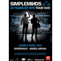 Affiche Variété internationale  SIMPLE MINDS © Fnac Spectacles