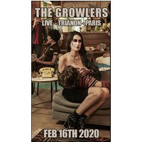 Affiche Rock  THE GROWLERS © Fnac Spectacles
