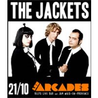 Affiche Rock  THE JACKETS X SAD HOURS © Fnac Spectacles