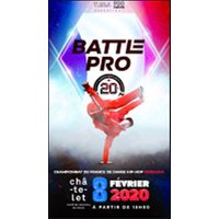 Affiche Danse Hip Hop  BATTLE PRO © Fnac Spectacles
