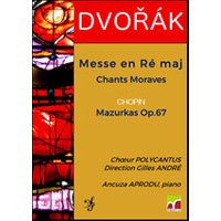 Affiche Chant choral  DVORAK : MESSE EN RE MAJEUR © Fnac Spectacles