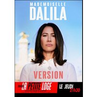 Affiche Humoristes  MADEMOISELLE DALILA © Fnac Spectacles