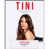 Affiche Pop-rock / Folk  TINI STOESSEL © Fnac Spectacles