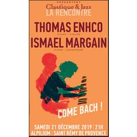 Affiche Jazz  THOMAS ENHCO-ISMAL MARGAN © Fnac Spectacles