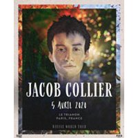 Affiche Jazz  JACOB COLLIER © Fnac Spectacles
