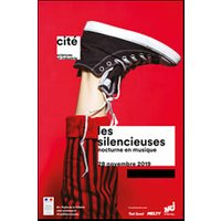 Affiche Exposition  LES SILENCIEUSES © Fnac Spectacles