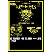 Affiche Rock  THE NEWS ROSES / SMASHING TRAIN © Fnac Spectacles