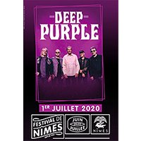 Affiche Pop-rock / Folk  DEEP PURPLE © Fnac Spectacles