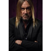 Affiche Rock  IGGY POP FREE © Fnac Spectacles