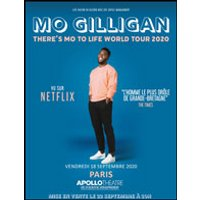 Affiche One man/woman show  MO GILLIGAN © Fnac Spectacles