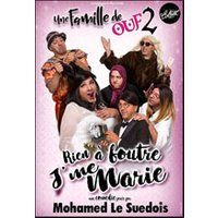 Affiche One man/woman show  MOHAMED LE SUEDOIS © Fnac Spectacles