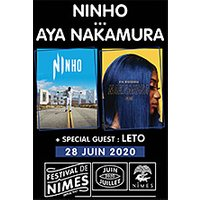 Affiche Pop-rock / Folk  NINHO - AYA NAKAMURA © Fnac Spectacles