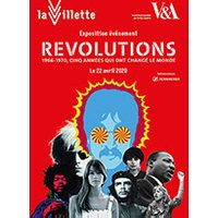 Affiche Exposition  REVOLUTIONS - 1966-1970 © Fnac Spectacles