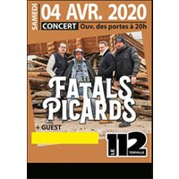 Affiche Rock  LES FATALS PICARDS © Fnac Spectacles