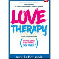 Affiche Comédie  LOVE THERAPY © Fnac Spectacles