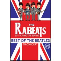 Affiche Rock  THE RABEATS © Fnac Spectacles