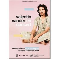 Affiche Pop-rock / Folk  VALENTIN VANDER © Fnac Spectacles