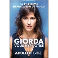 Affiche Hypnose  GIORDA VOUS HYPNOTISE © Fnac Spectacles