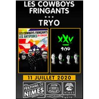 Affiche Pop-rock / Folk  LES COWBOYS FRINGANTS - TRYO © Fnac Spectacles