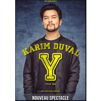 Affiche One man/woman show  KARIM DUVAL © Fnac Spectacles